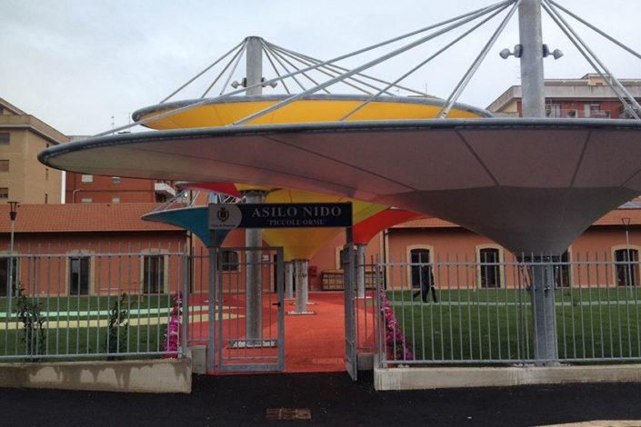 WAVE TEXTILE ARCHITECTURE - Pomezia - Per Facciata