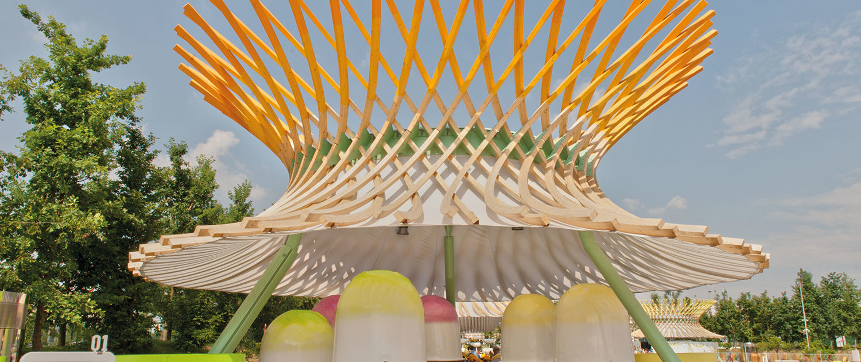 WAVE TEXTILE ARCHITECTURE - Tenso - EXPO MILANO