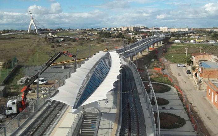 WAVE TEXTILE ARCHITECTURE - Cagliari - Tenso Progetto Speciale