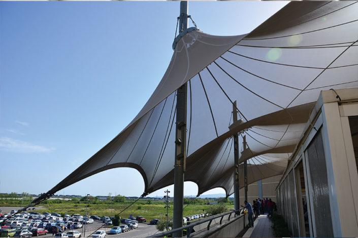 WAVE TEXTILE ARCHITECTURE - Marcianese - A Cono