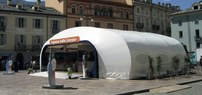 WAVE TEXTILE ARCHITECTURE - Agenzia delle Entrate - A progetto Speciale