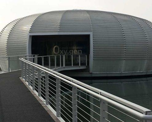 WAVE TEXTILE ARCHITECTURE - Bresso Oxy.gen - A progetto Speciale