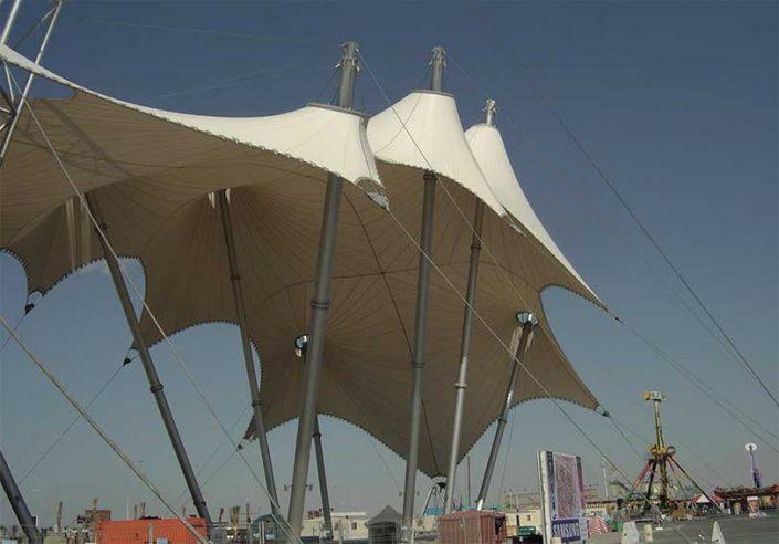 WAVE TEXTILE ARCHITECTURE - Emirati Arabi - A progetto Speciale