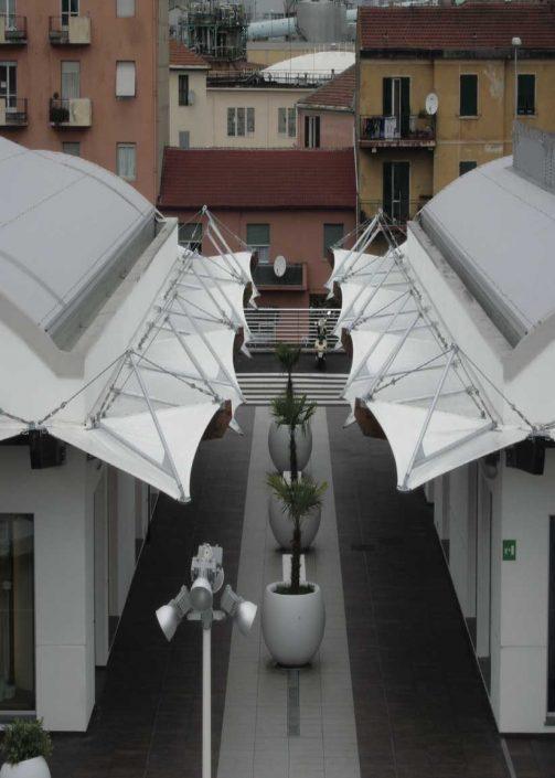 WAVE TEXTILE ARCHITECTURE - Vado Ligure - A progetto Speciale