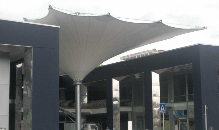 WAVE TEXTILE ARCHITECTURE - Foligno - A Cono