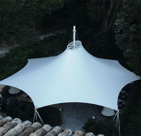 WAVE TEXTILE ARCHITECTURE - TORRE DI PALME - A Cono