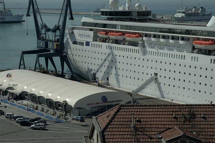 WAVE TEXTILE ARCHITECTURE - Porto Ancona - A progetto Speciale