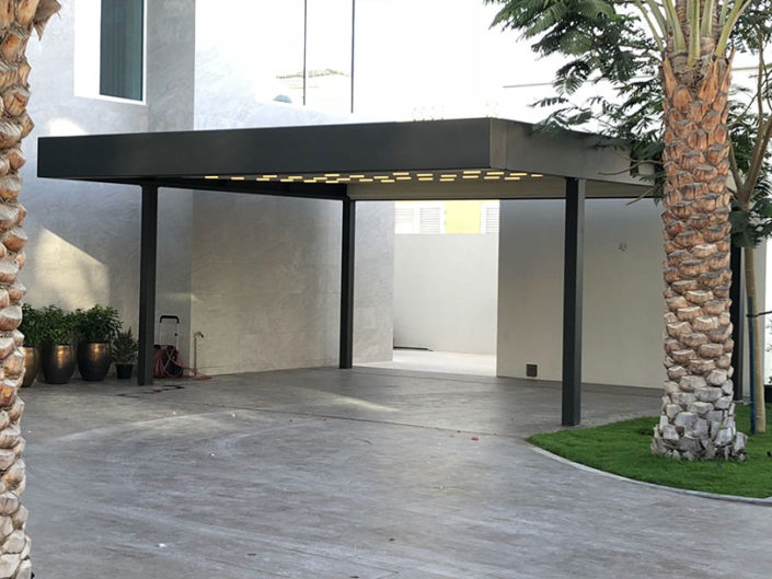 WAVE TEXTILE ARCHITECTURE - DUBAI - Pergole