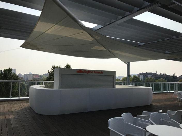 WAVE TEXTILE ARCHITECTURE - Milano - Vele