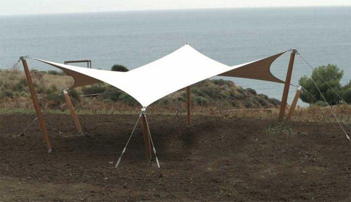WAVE TEXTILE ARCHITECTURE - OASI WWF - Tenso A Vela