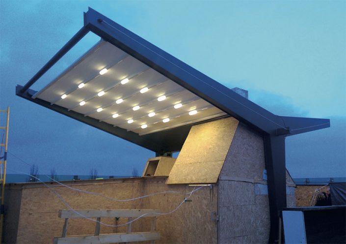 WAVE TEXTILE ARCHITECTURE -Ucraina - Strutture Speciali