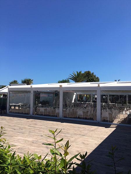 WAVE TEXTILE ARCHITECTURE - Numana Villaggio Turistico