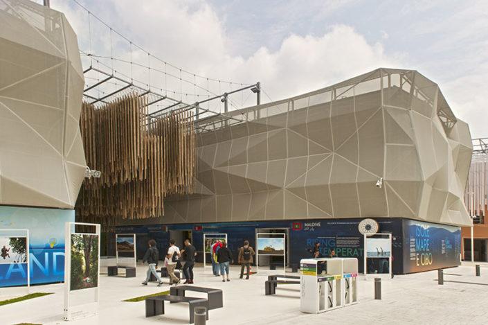 WAVE TEXTILE ARCHITECTURE - Expo Milano - Per Facciata