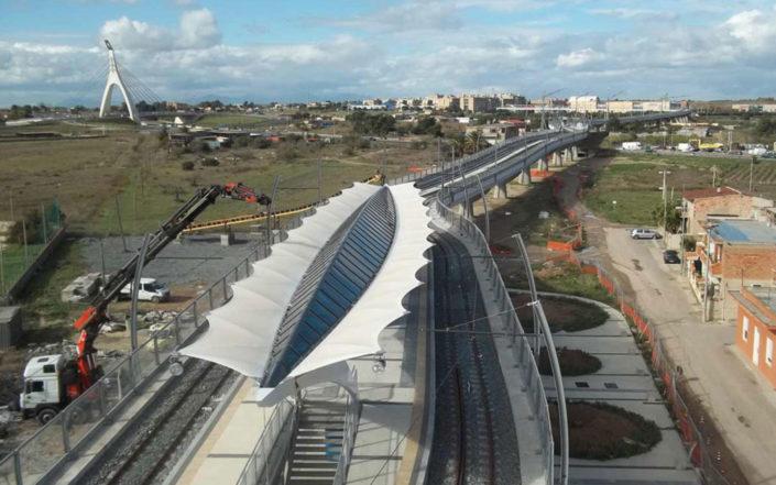 WAVE TEXTILE ARCHITECTURE - Metropolitana - Cagliari
